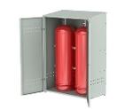 Шкаф для 2-х газовых баллонов (пропан 50 л.)