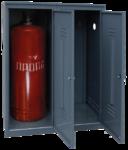 Шкаф для 2-х газовых баллонов (пропан 27 л.)