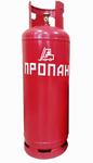 Газовый баллон NOVOGAS 46л с заборной трубкой и фильтром для погрузчика